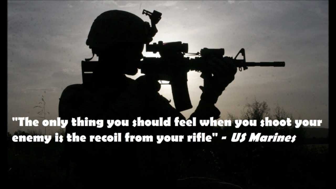 Marines Quotes Us Marines Corps Quotes  Youtube