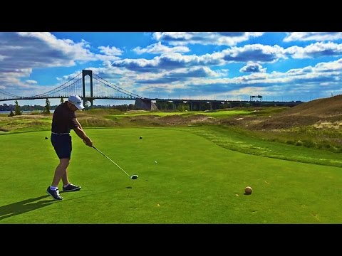 Playing Ferry Point Golf Course + Golfers in New York!