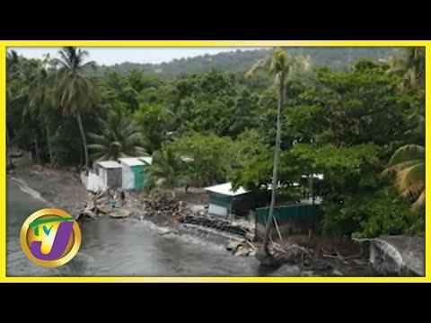 Erosion Part 1: Portland & St. Mary, Jamaica   TVJ News - June 16 2021