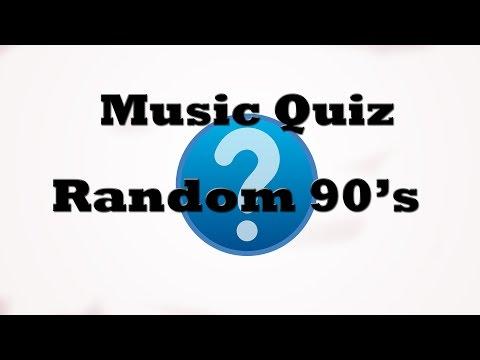Music Quiz - Random 90's