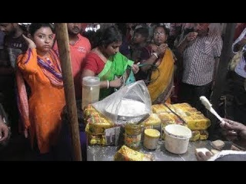 End Your Day with Butter Toast | Kolkata Street Food at Station | Indian Street Food in Ev