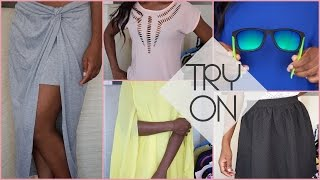 Summer haul : mes achats de l'été (Aliexpress, Monki, Zara,…) ▲ lepointJenn ▲