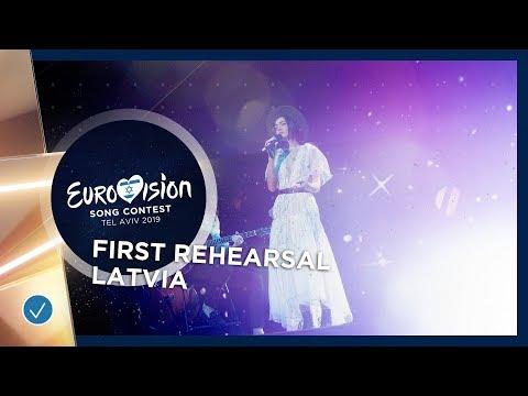 Latvia 🇱🇻 - Carousel - That Night - First Rehearsal - Eurovision 2019