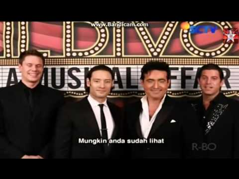 IL DIVO Message for Anggun 28-6-2014
