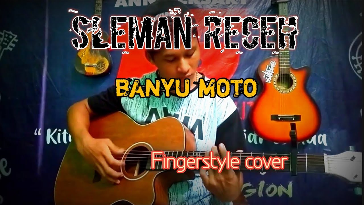 sleman receh banyu moto fingerstyle cover youtube