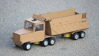 How to make a Truck - Amazing DIY Toys Truck