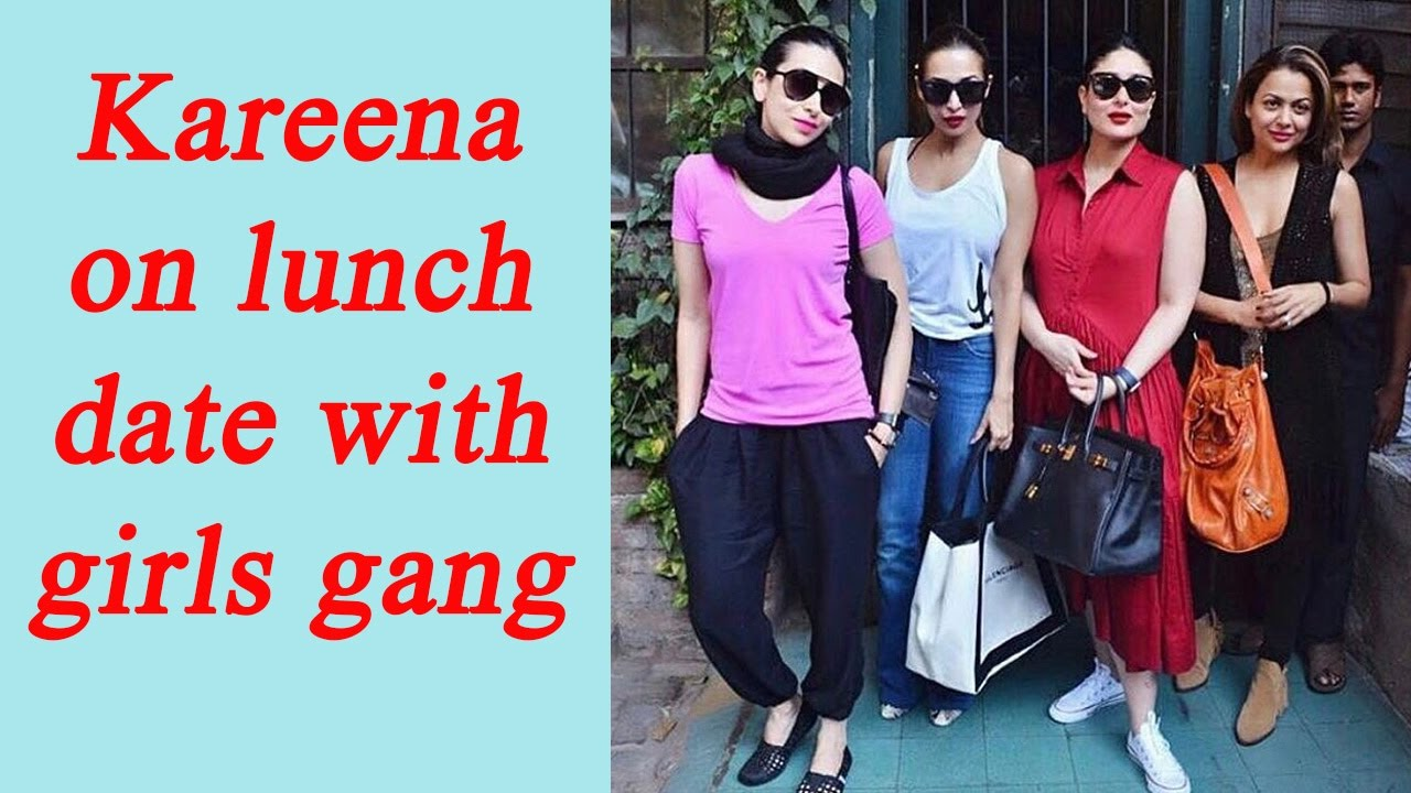Kareena Kapoor Khan looks red hot on lunch date with Karisma ...