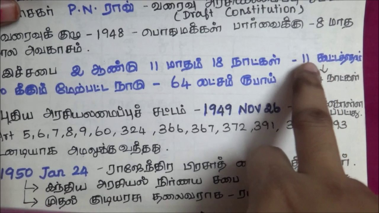 Indian Constitution Articles In Tamil Pdf