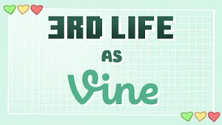 3rd Life SMP, but Vines
