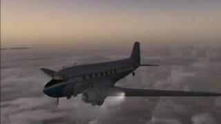 Flight Simulator X with many addons