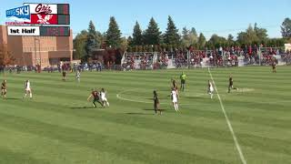 Highlights Eastern Eagles Soccer vs. Montana (Oct. 15, 2017).