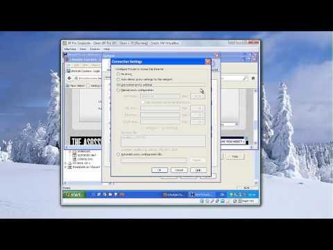 HTTrack Forum Capture in VirtualBox