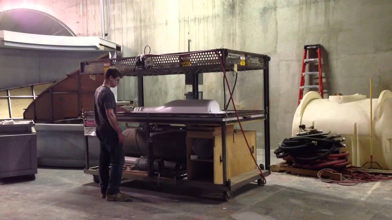 Running The Vacuum Forming Machine