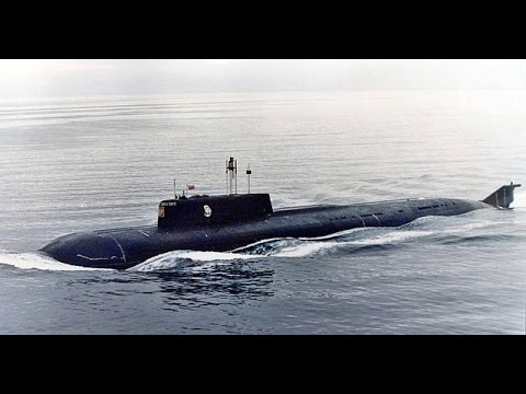 Mammoet - Salvage of nuclear submarine Kursk