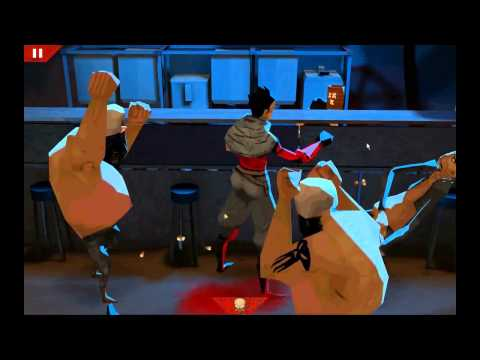 Wasteland Bar Fight Game Play Video