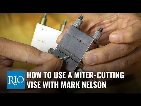 How to Use a Miter-Cutting Vise