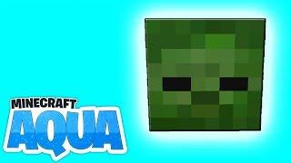 Ein ZOMBIEKOPF? Der Erste aus allen Vanilla Projekten! - Minecraft 1.13 AQUA #31