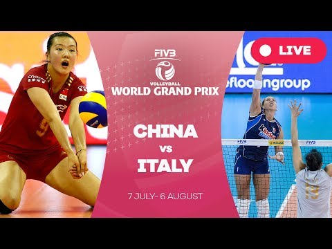 China v Italy - Group 1: 2017 FIVB Volleyball World Grand Pr