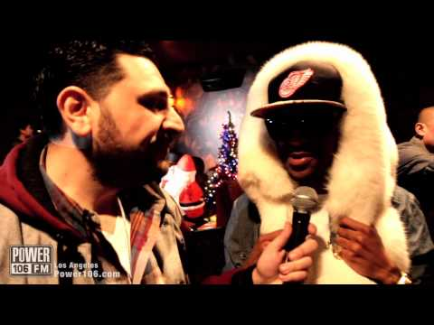 Big Sean interview at Cali Christmas 2011 with DJ Vick One