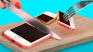 8 Kendin Yap Tarzı Yenilebilir Telefon Kılıfı - Yenilebilir Şakalar
