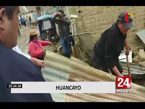 Arequipa: calles de Paucarpata se convirtieron en ríos tras intensas lluvias