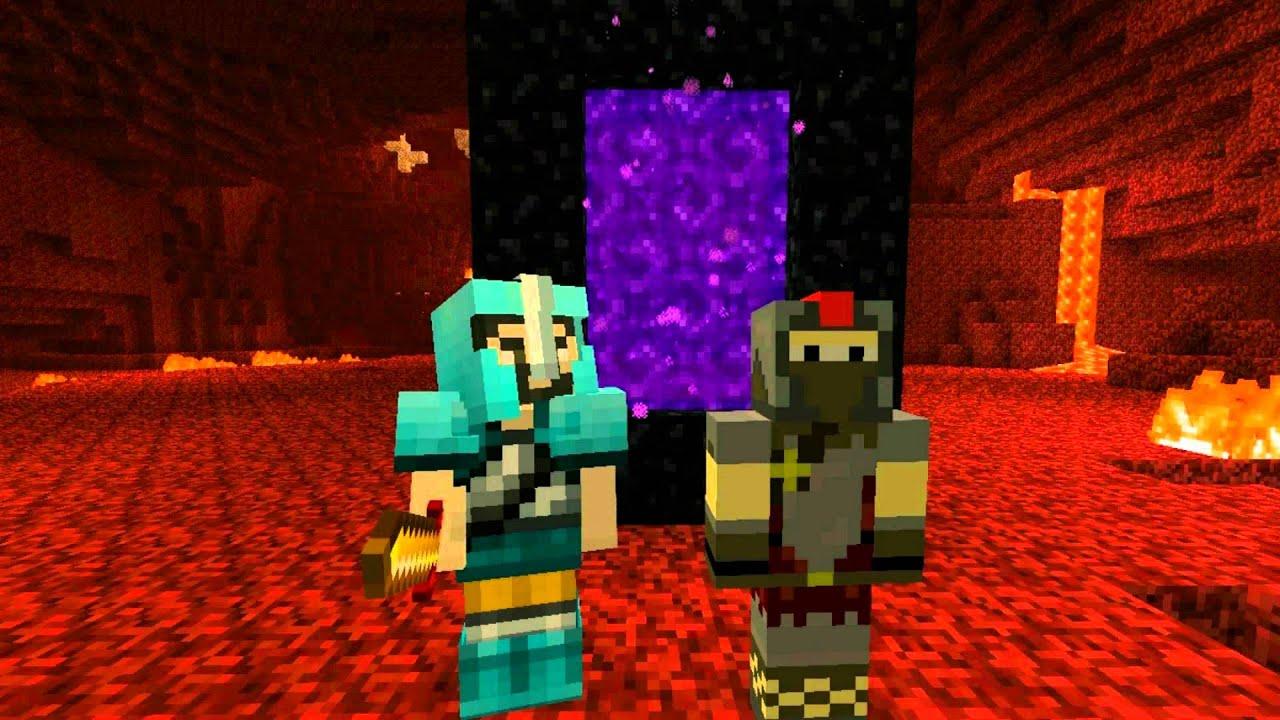 Download Newbies: Nether Part 1 (Minecraft Machinima)