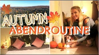 Meine ABENDROUTINE im Herbst |PATRIZIA PALME 🍁