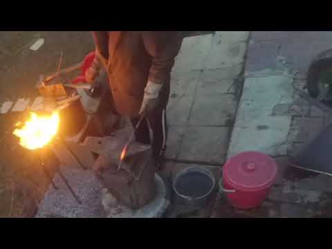 Assembly and test of the forge