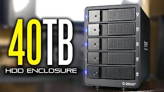 40Tb Orico 5 Bay HDD Enclosure Review