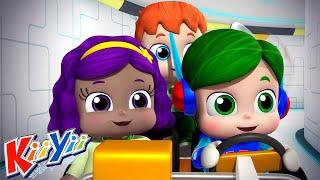 Тут монстров нет Еще детские песни KiiYii мультфильмы для детей