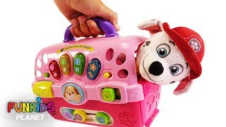 Paw Patrol Skye, Chase & Marshall Dog Carriers Playset thumbnail