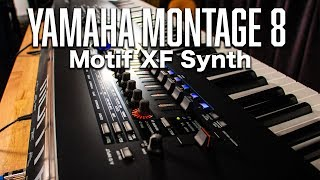 Montage 8: Motif XF Synth