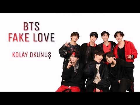 BTS 'FAKE LOVE' (Kolay Okunuş-Easy Lycris) #2