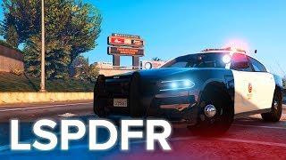 ПОЛИЦИЯ LAPD!   ПОЛИЦЕЙСКИЕ БУДНИ #13 (МОД LSPDFR ДЛЯ GTA 5)