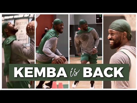 Kemba Walker Back from Injury (Practice Footage)
