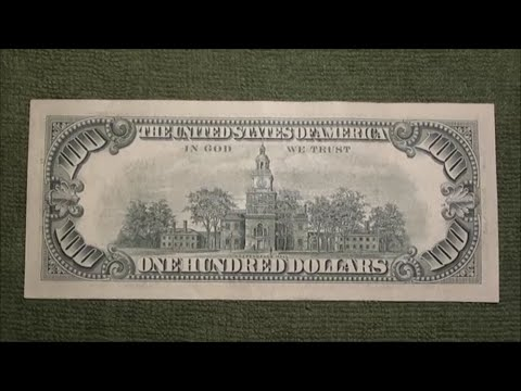 AMAZING $100 BILL I FOUND At The BANK!