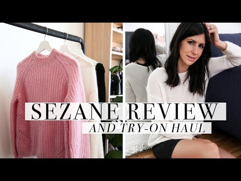 bfb4bf06c1e52a SEZANE CLOTHING REVIEW & TRY ON: Why I Returned my Entire Order    Mademoiselle - YouTube