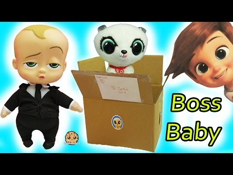 Forever Puppy Dog Package Surprise Box with The Boss Baby Talking Movie Doll