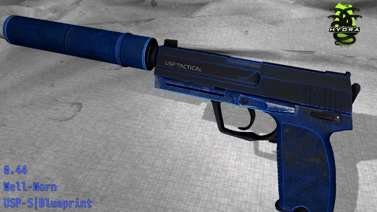 Usp s blueprint skin wear preview youtube usp s blueprint skin wear preview malvernweather Image collections