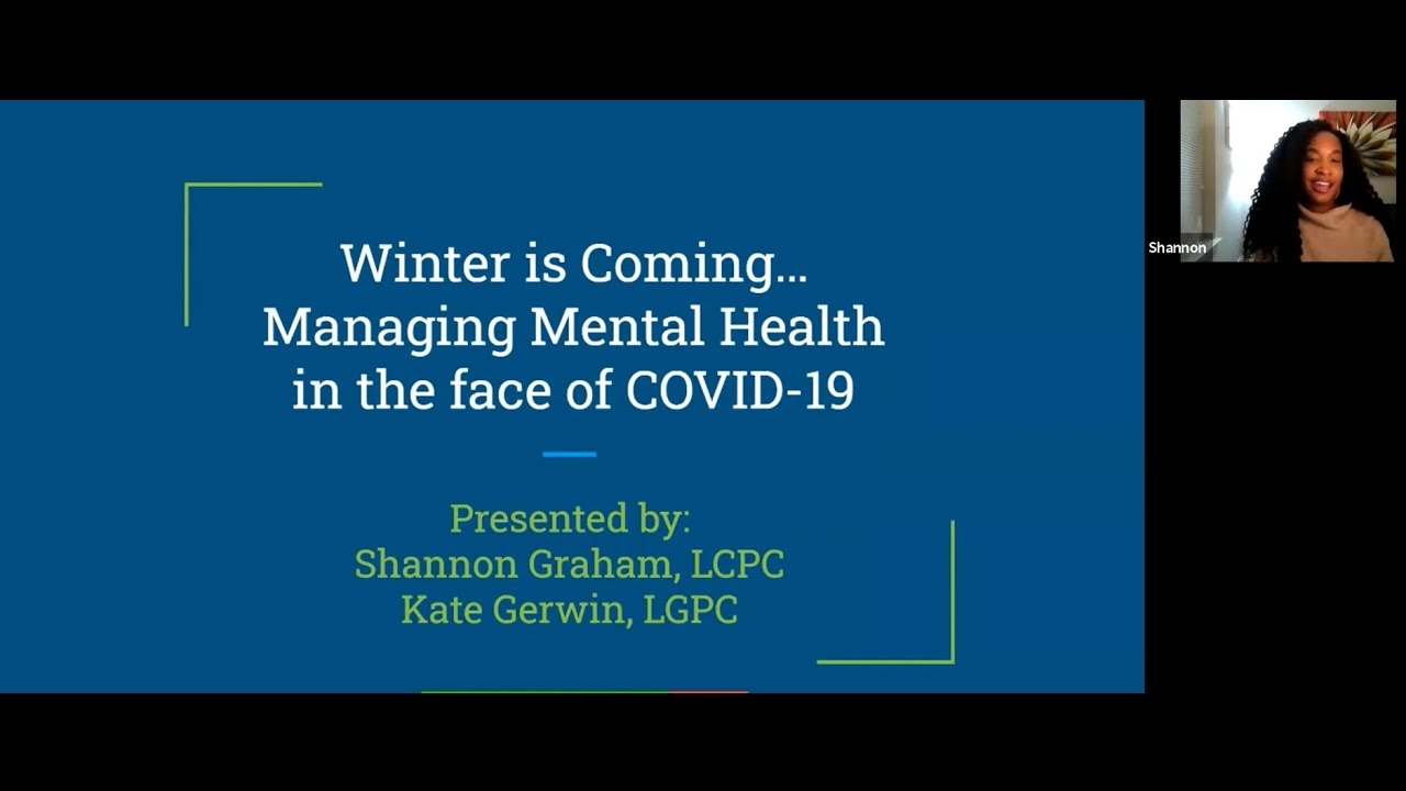 Managing Seasonal Depression in The Face of COVID-19
