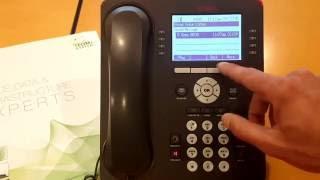 Intermediate Call Handling with your Avaya IP Office Phone