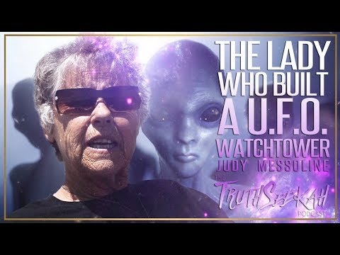 Judy Messoline | The Lady Who Built A UFO Watchtower | That Crazy Lady Down The Road