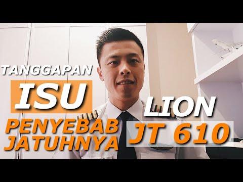 Tanggapan Mengenai Isu Penyebab Jatuhnya Lion Air JT610 - TANYA PILOT