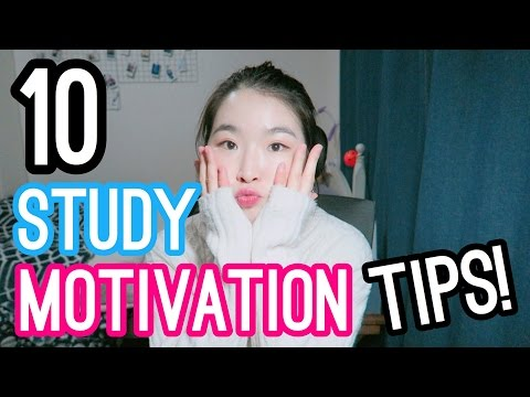 10 TIPS FOR GETTING MOTIVATED TO STUDY – HOW TO GET MOTIVATED I Med School Student Life