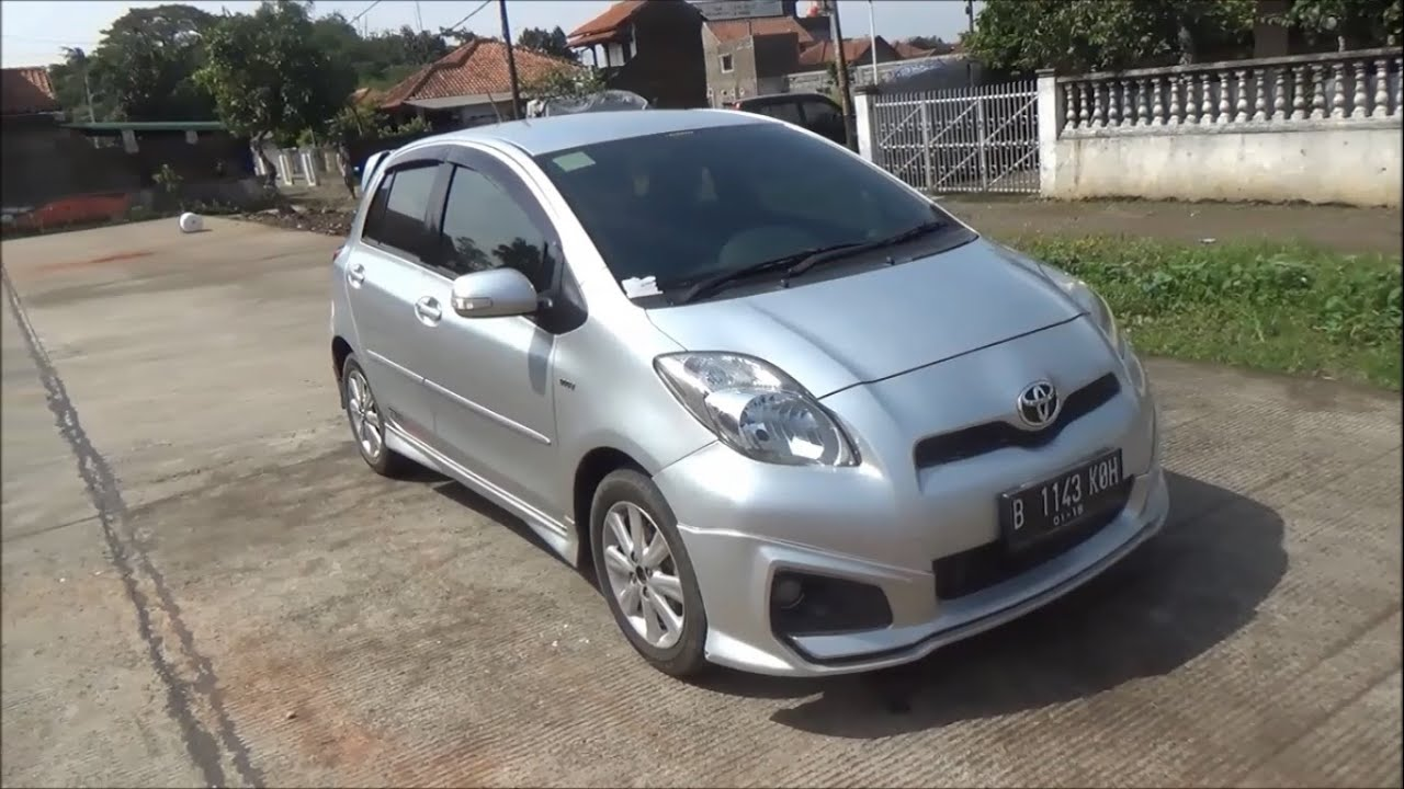 toyota yaris trd sportivo manual grand new avanza g 1.3 test drive 2012 youtube