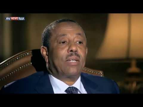 لقاء عبد الله الثني مع قناة  سكاي نيوز عربية 14.9.2014
