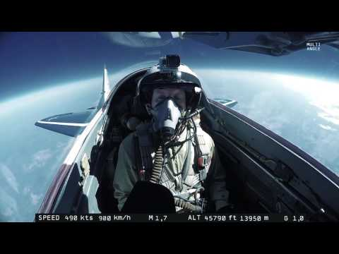 MIG 29 High Altitude The Fish Eye Lens Camera Distorting Reality