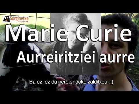 Marie Curie, aurreiritziei aurre - Fernando Morillo (Sorginetxe istorioak)