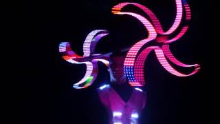 Драгон стаф, лазерное шоу, световое шоу