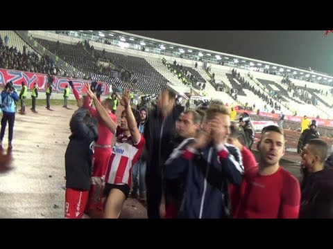 Delije i igrači posle utakmice: Baš najviše na svetu! | 156. derbi: Partizan - Crvena zvezda 1:1